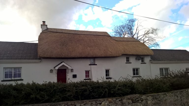 Roof Thatching in Ireland - Thatched by Mike Davies and Andy Stevens