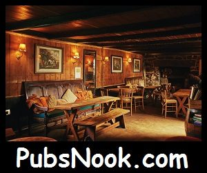 The Pub Nook. The Cosiest Place in the Pub.